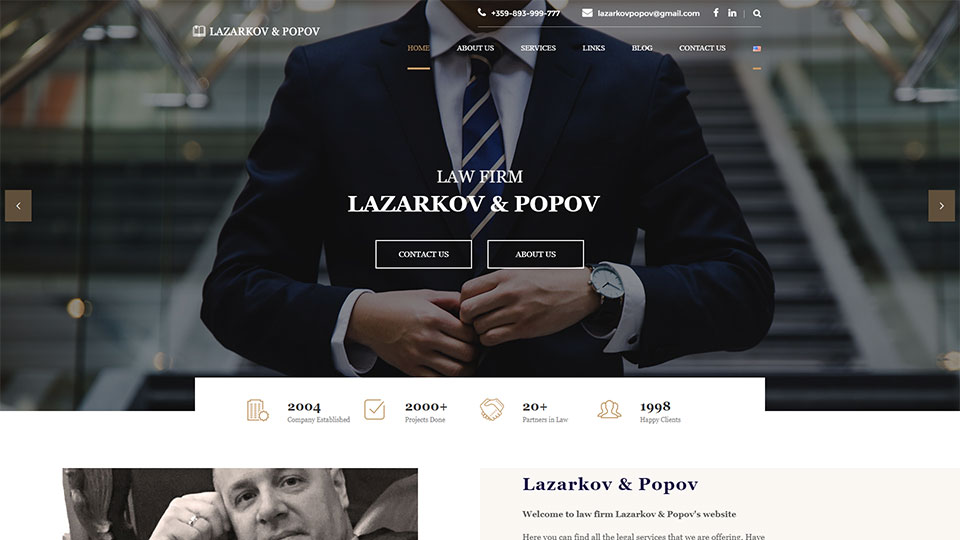Law Firm Lazarkov & Popov