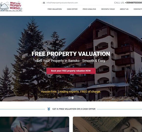 Free Property Valuation Bansko